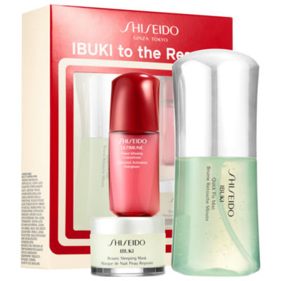 Shiseido Ibuki To The Rescue Starter Kit
