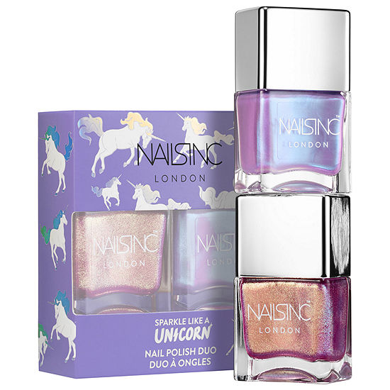 NAILS INC. Unicorn Nail Polish Duo