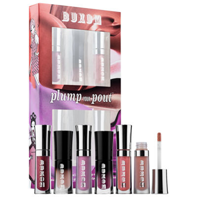 Buxom Plump Your Pout Six Piece Mini Lip-Plumping Collection