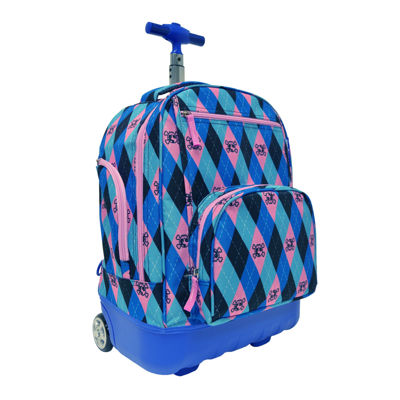 Pacific Gear Lightweight Rolling Wheeled Backpack