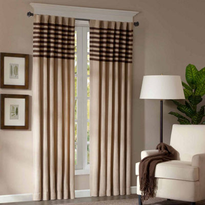 Madison Park Rod-Pocket Curtain Panel