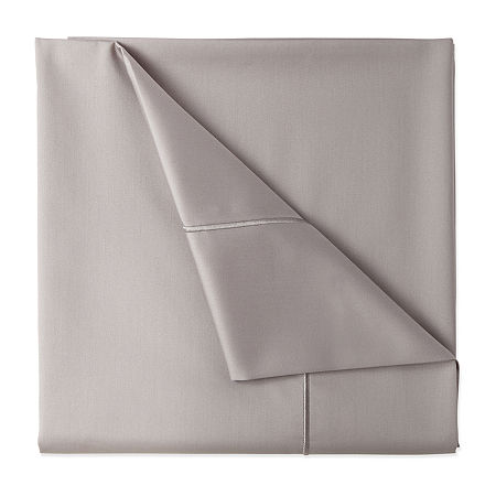 JCPenney Home 400tc Wrinkle Guard Deep Pocket Sheet Set, One Size , Gray