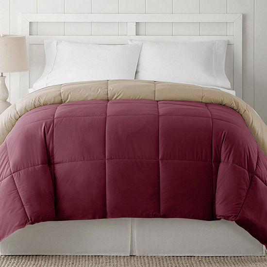 JCPenney Home™ Classic Light-Warmth Twin Down Alternative Reversible Comforter