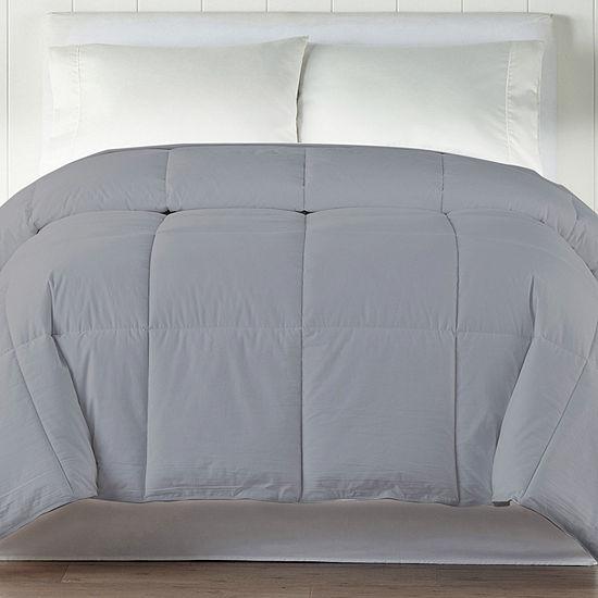 Cottonloft Colors Cotton-Filled Medium Warmth Down-Alternative Comforter