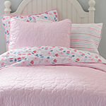 Frank And Lulu Annabelle Floral Reversible Quilt