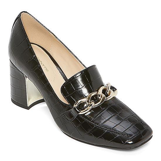 Liz Claiborne Womens Matching Pumps Block Heel