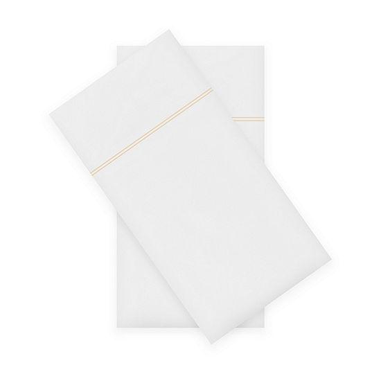 Fieldcrest Luxury 500-Thread Count Egyptian Cotton 2-Pack Pillowcases