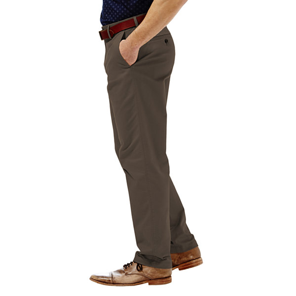 Haggar® Performance Cotton Slacks–Big & Tall