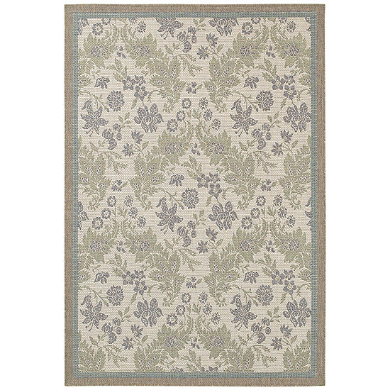 Couristan® Palermo Indoor/Outdoor Rectangular Rug