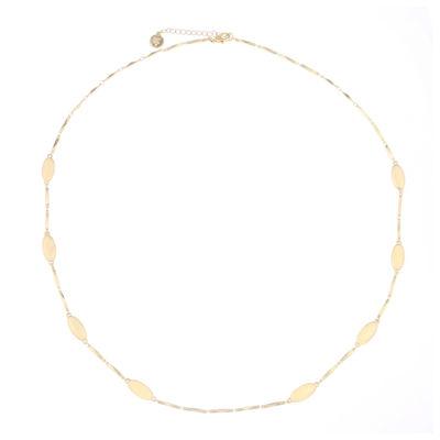 Liz Claiborne® Gold-Tone Station Necklace