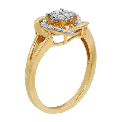 1/6 CT. T.W. Diamond 10K Yellow Gold Ring