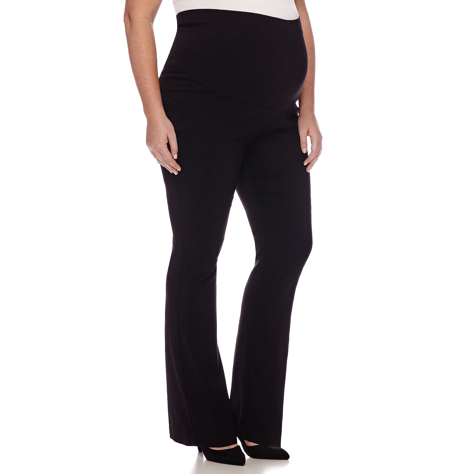 Maternity Millennium Overbelly Trouser Pants - Plus plus size,  plus size fashion plus size appare