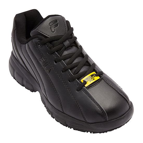 Fila® Memory Niteshift Mens Slip-Resistant Work Shoes
