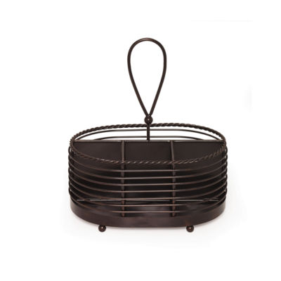 Gourmet Basics by Mikasa® Wire Napkin & Flatware Caddy