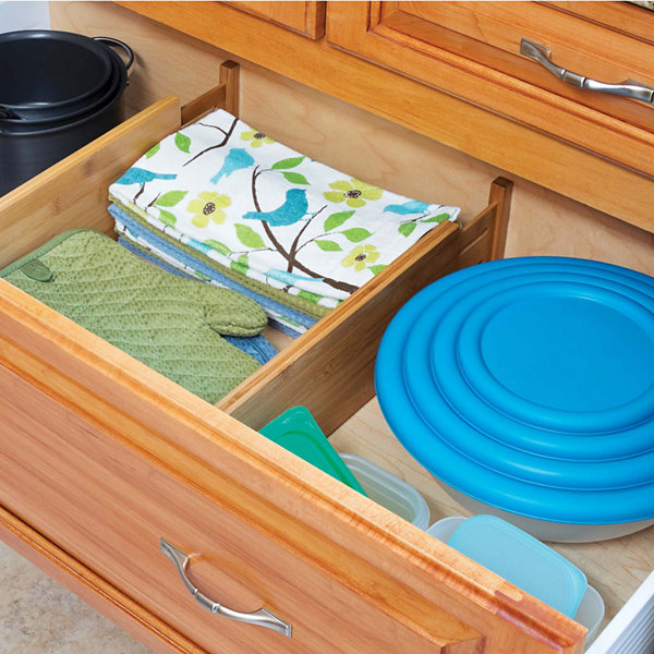 Lipper International Bamboo 2-pc. Deep Kitchen Drawer Divider Set