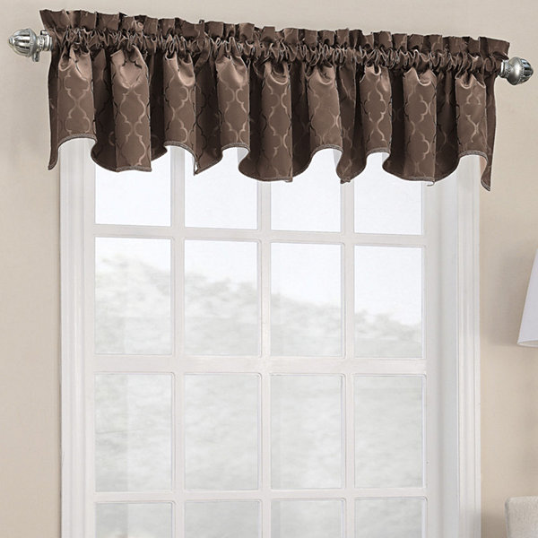Sun Zero™ Dion Shaped Rod-Pocket Valance