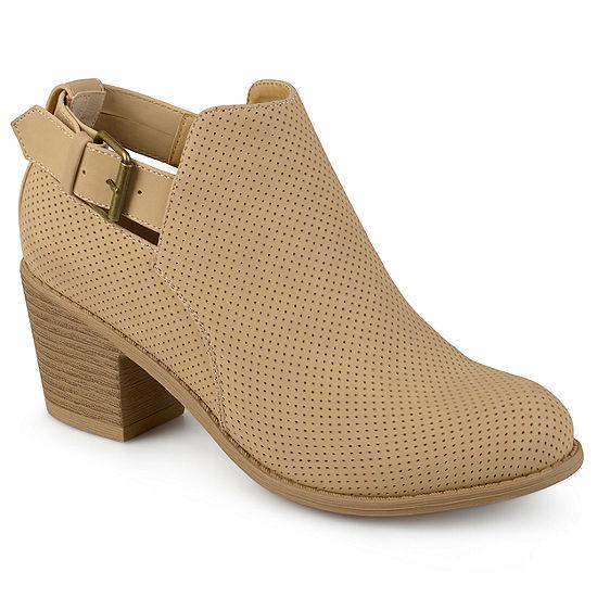 Journee Collection Womens Averi Booties Stacked Heel