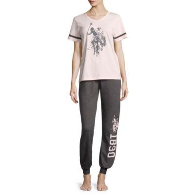 Us Polo Assn. Pant Pajama Set-Juniors