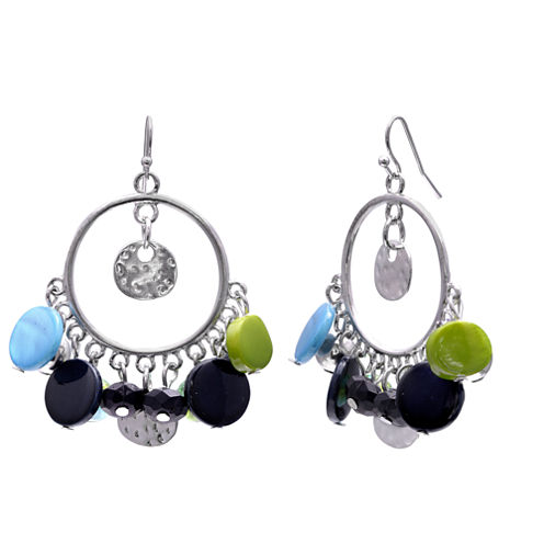 Mixit Clr 0717 Bluegreen Drop Earrings
