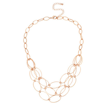 Bold Elements Womens 17 Inch Link Necklace