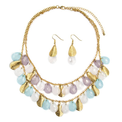 mixit womens 3 pc jewelry set jcpenney