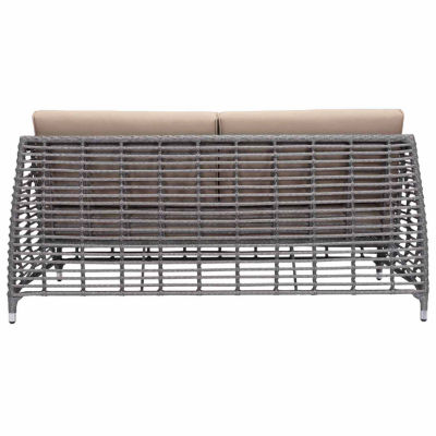 Zuo Modern Trek Beach Patio Sofa