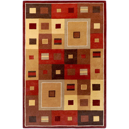 Decor 140 Riva Hand Tufted Rectangular Indoor Rugs, One Size , Brown