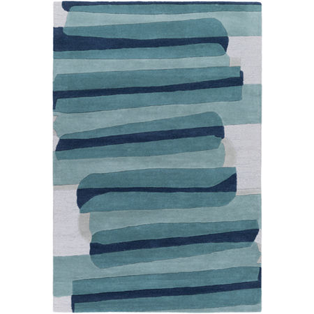 Decor 140 Waris Hand Tufted Rectangular Indoor Rugs, One Size , Green