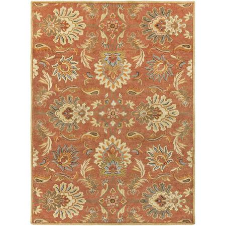 Decor 140 Vitrolles Hand Tufted Rectangular Indoor Rugs, One Size , Orange