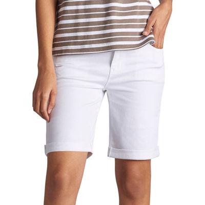 "Lee 8"" Modern Fit Denim Bermuda Shorts-Petites"
