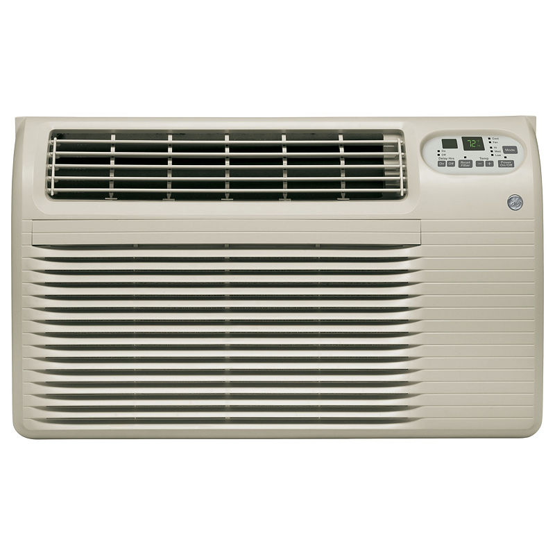 Ge 115 Volt 12,000 Btu Built-In Cool-Only Room Air Conditioner - Ajcq12Acg - Through The Wall A/C - Gray - Soft Gray