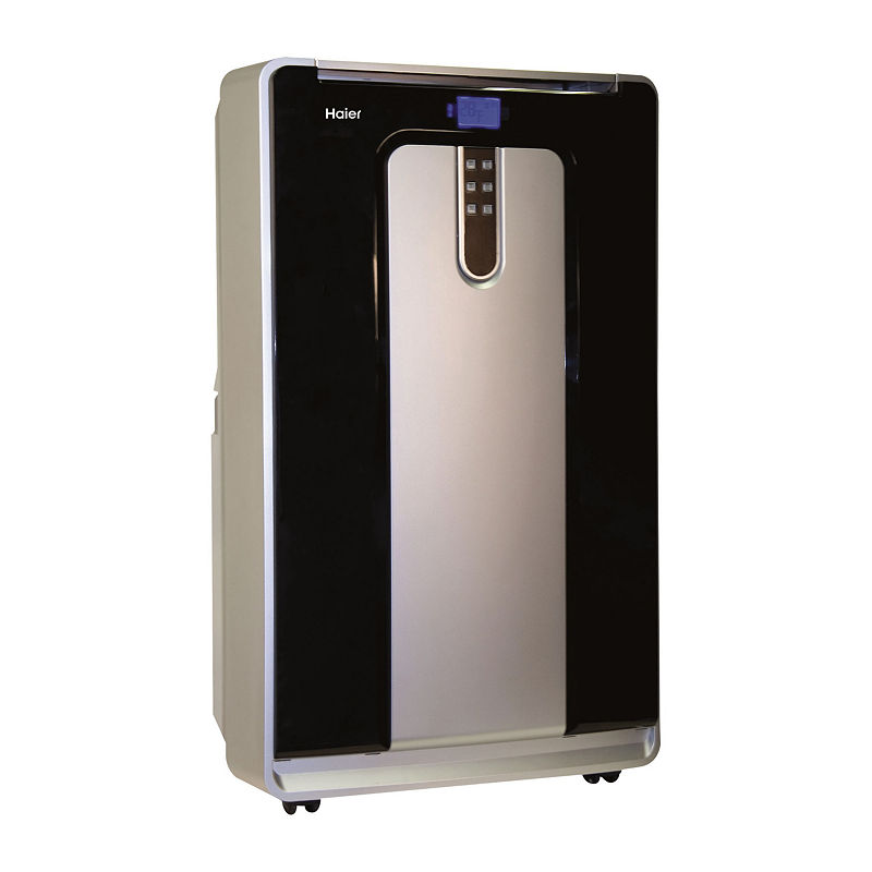 Haier 14,000 Btu Portable Air Conditioner With Heat - Dual Hose - Hpnd14Xht - Ge - Portable A/C - Silver - Silver