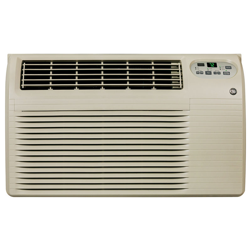 Ge 115 Volt 8,200 Btu Built-In Heat/Cool Room Air Conditioner - Ajeq08Acf - A/C + Heater Combos - Gray - Soft Gray