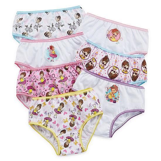 Little Girls 7 Pack Fancy Nancy Brief Panty