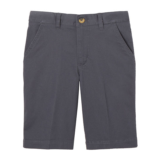 French Toast Little & Big Boys Adjustable Waist Chino Short