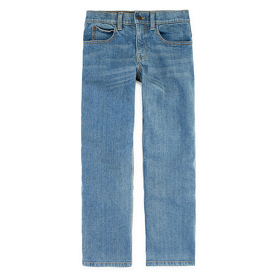 Arizona Flex Little & Big Boys Straight Relaxed Fit Jean