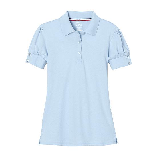 French Toast Little Girls Short Sleeve Polo Shirt