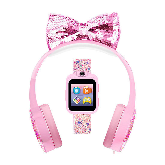 Itouch Playzoom Bundle Girls Pink Smart Watch-A0094wh-18-F58