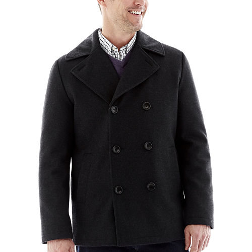 St. Johns Bay Mens Pea Coat