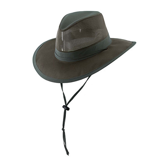 d8a16b56781 Dorfman Outdoor Design Supplex Mesh Safari Hat