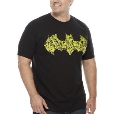 Bioworld Short-Sleeve Batman Logo Cotton Tee - Big & Tall