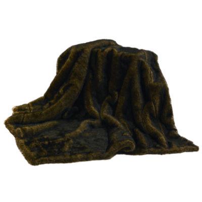 HiEnd Accent Mink Faux Fur Throw
