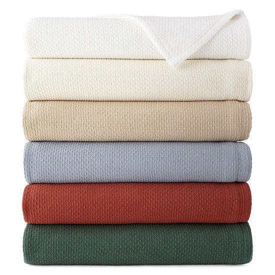 JCPenney Home Cotton Blanket