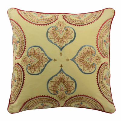 "Waverly Swept Away 18"" Square Decorative Pillow"