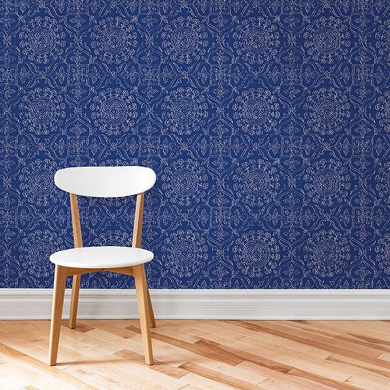 NuWallpaper Byzantine Peel and Stick Wallpaper