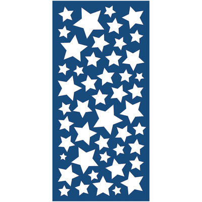 Stars Glow In The Dark Wall Decals- Set of 188