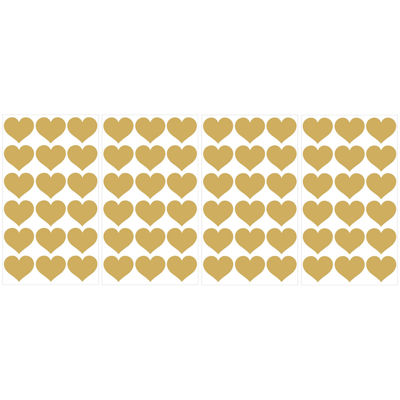 WallPops Gold Heart MiniPops 72-pc. Peel-and-Stick Wall Decals