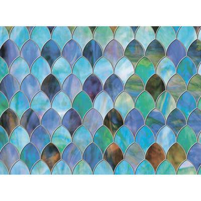 Brewster Peacock Door Premium Film