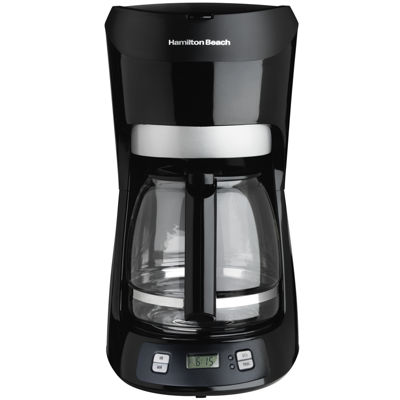 Hamilton Beach® 12-Cup Coffee Maker with Digital Clock