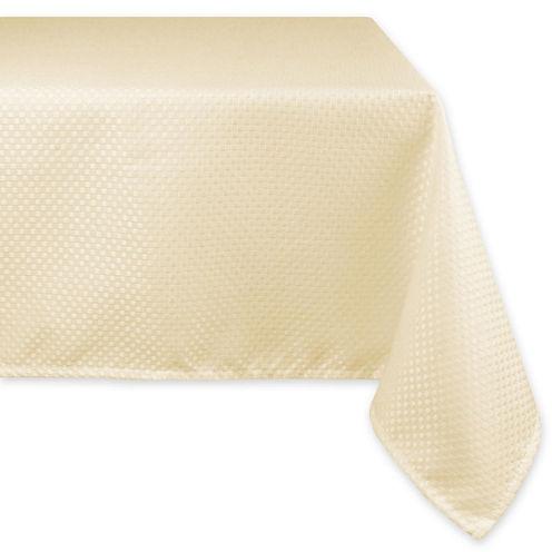 Design Imports Elegant Bead Round Tablecloth